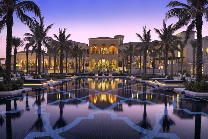 The Palm Dubia pool