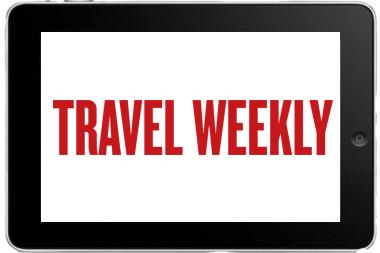 Ipad with travel weekly
